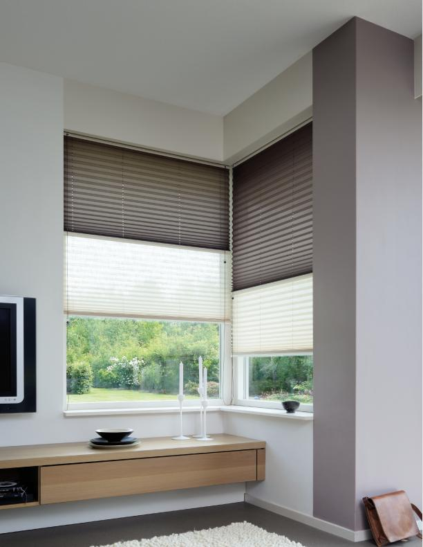 Cellular Pleated Shades - Sheridan Interiors