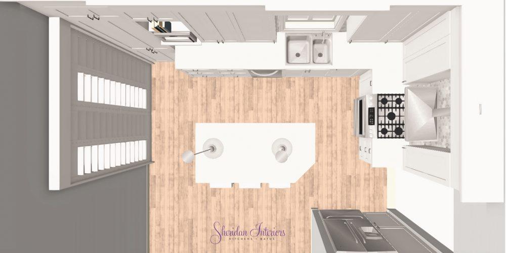 An Island For Seating - Sheridan Interiors