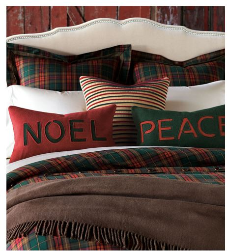 Christmas Traditional Pillows - Sheridan Interiors
