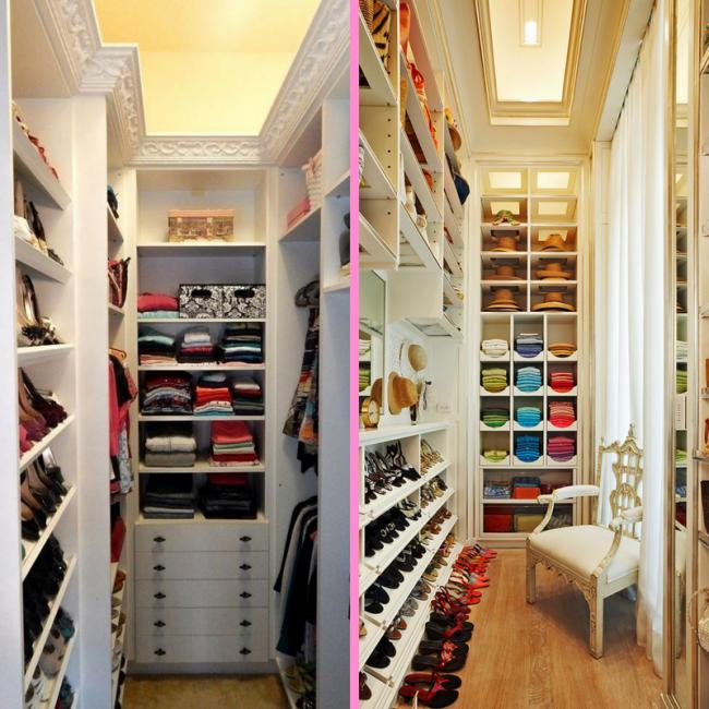 Narrow Closets - Sheridan Interiors
