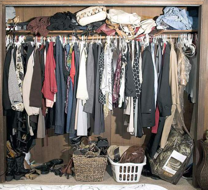 Custom Closets Disaster - Sheridan Interiors