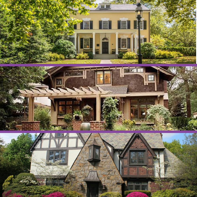 architectural detailing for exteriors, colonial home exterior, craftsman style, tudor style, house styles, interior designer cornwall, interior designer ottawa
