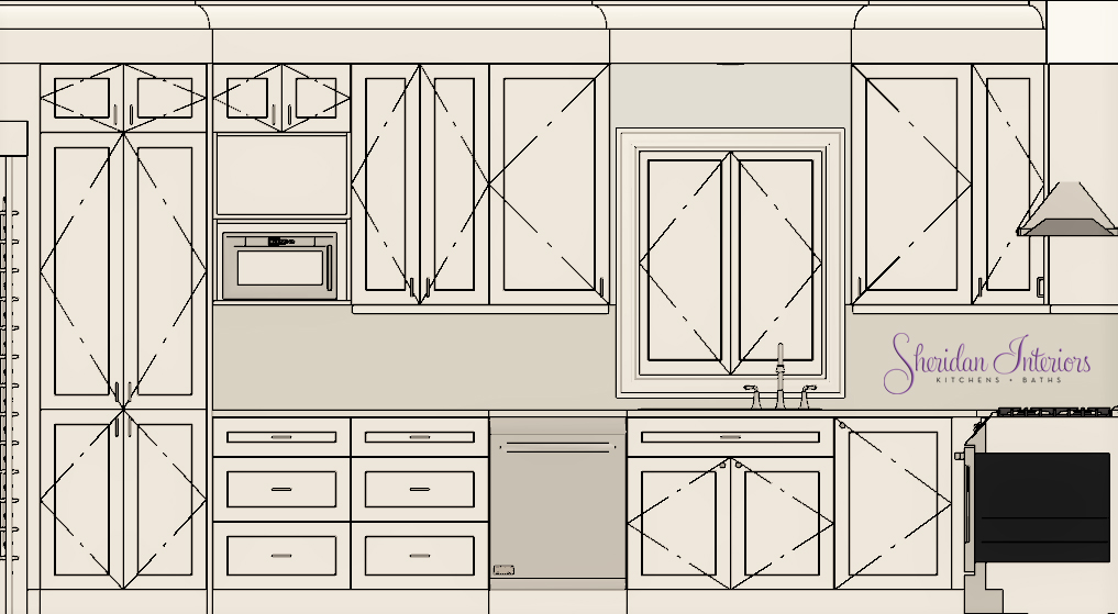 Second Pantry Kitchen - Sheridan Interiors