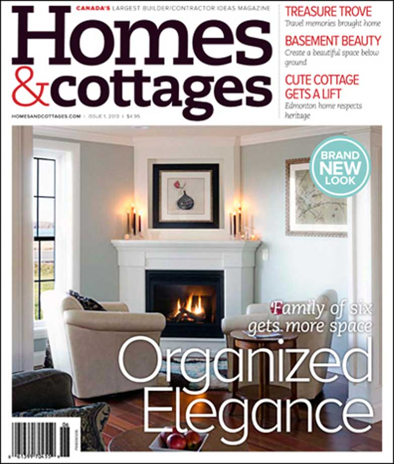 Magazine Cover for Homes & Cottages