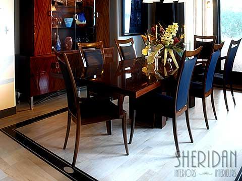 Dining Room Border - Sheridan Interiors
